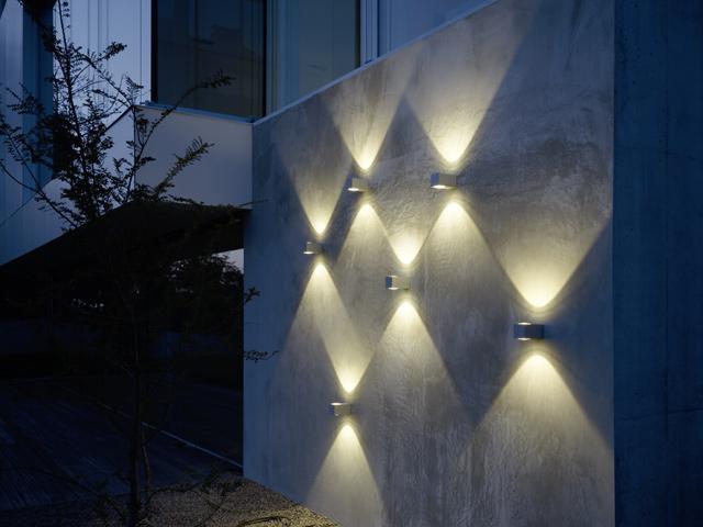 sehen und gesehen werden das richtige licht am haus. Black Bedroom Furniture Sets. Home Design Ideas