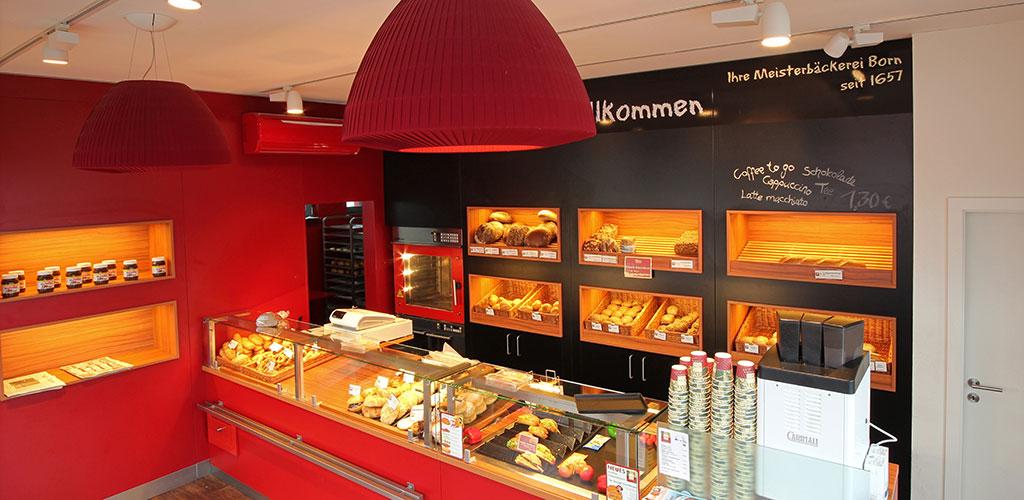 Beleuchtung Bäckerei Verkaufsraum | Backerei Lichthaus Rohrbach